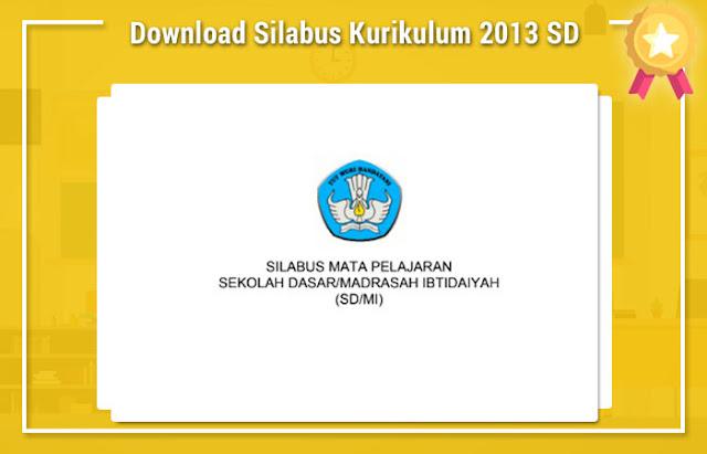 Download Silabus Kurikulum 2013 SD