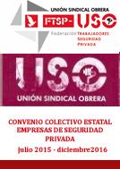 CONVENIO COLECTIVO ESTATAL 2015/2016