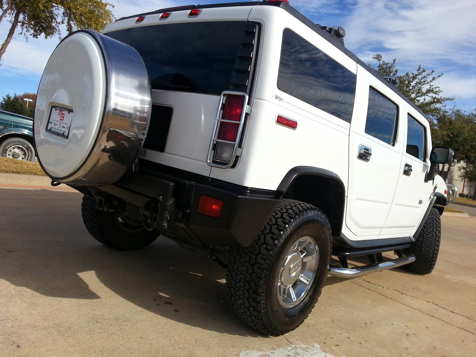 TDY Sales 817 243 9840 For Sale $29 999 white 2007 HUMMER H2