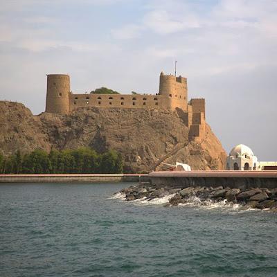 Fortaleza en Muscat, Omán