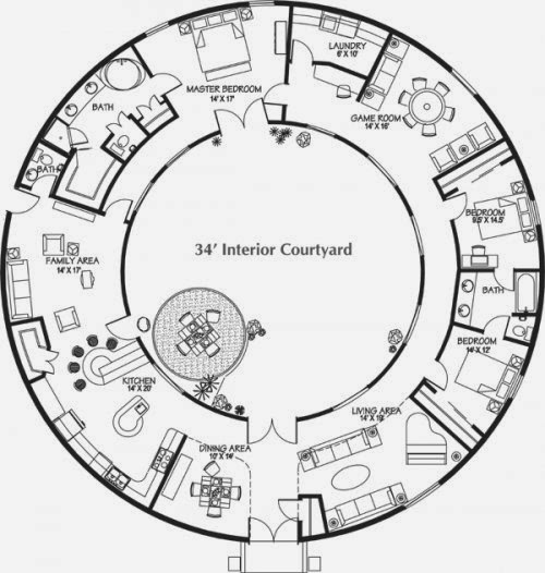 Apple Construction Dimensions: Monolithic Dome Home Plans
