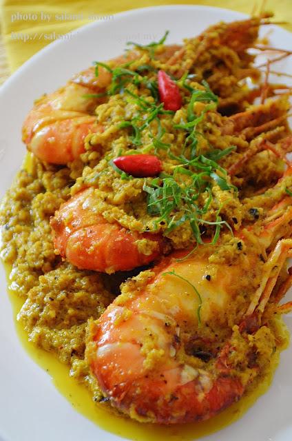 resepi menu berbuka puasa  bersahur  popular  terbaik aneka resepi masakan kampung Resepi Udang Galah Masak Stim Enak dan Mudah