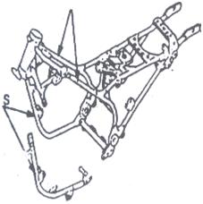 Tubular pola double cradle