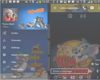 BBM Mod Tema Tom and Jerry v2.10.0.35 Apk Keren Gratis Terbaru (Clone)