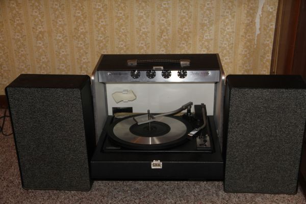 History S Dumpster Your First Phonograph Stereo