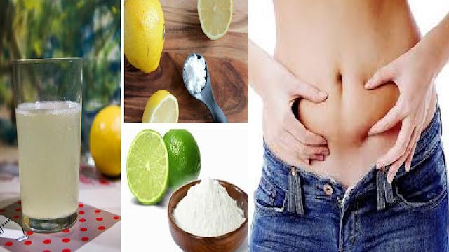 Resultado de imagen para quema grasa  con bicarbonato de sodio y limon