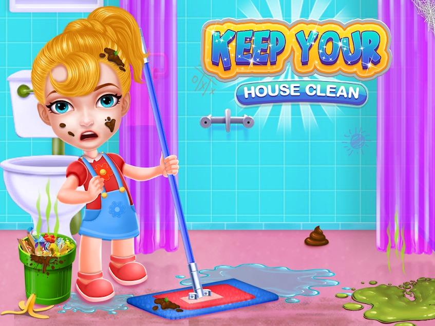 تحميل لعبة تنظيف المنزل للاندرويد مجانا