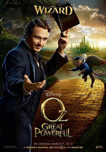 Oz the Great And Powerful 2013 Dual Audio Hindi BluRay||720p||480p