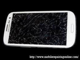 How to fix Samsung Galaxy Note II cracked lcd screen problem solution