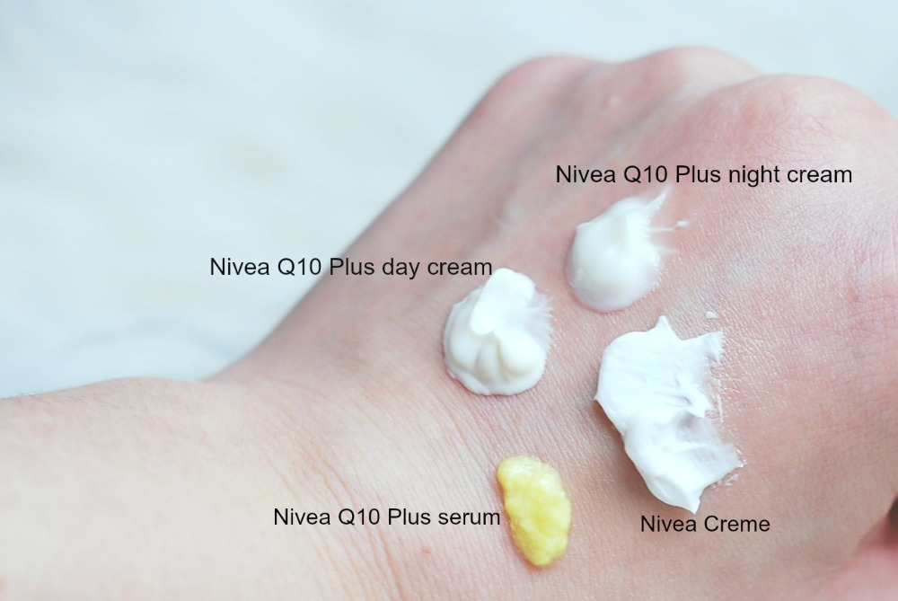 Nivea Q10 day and night moisturizers review