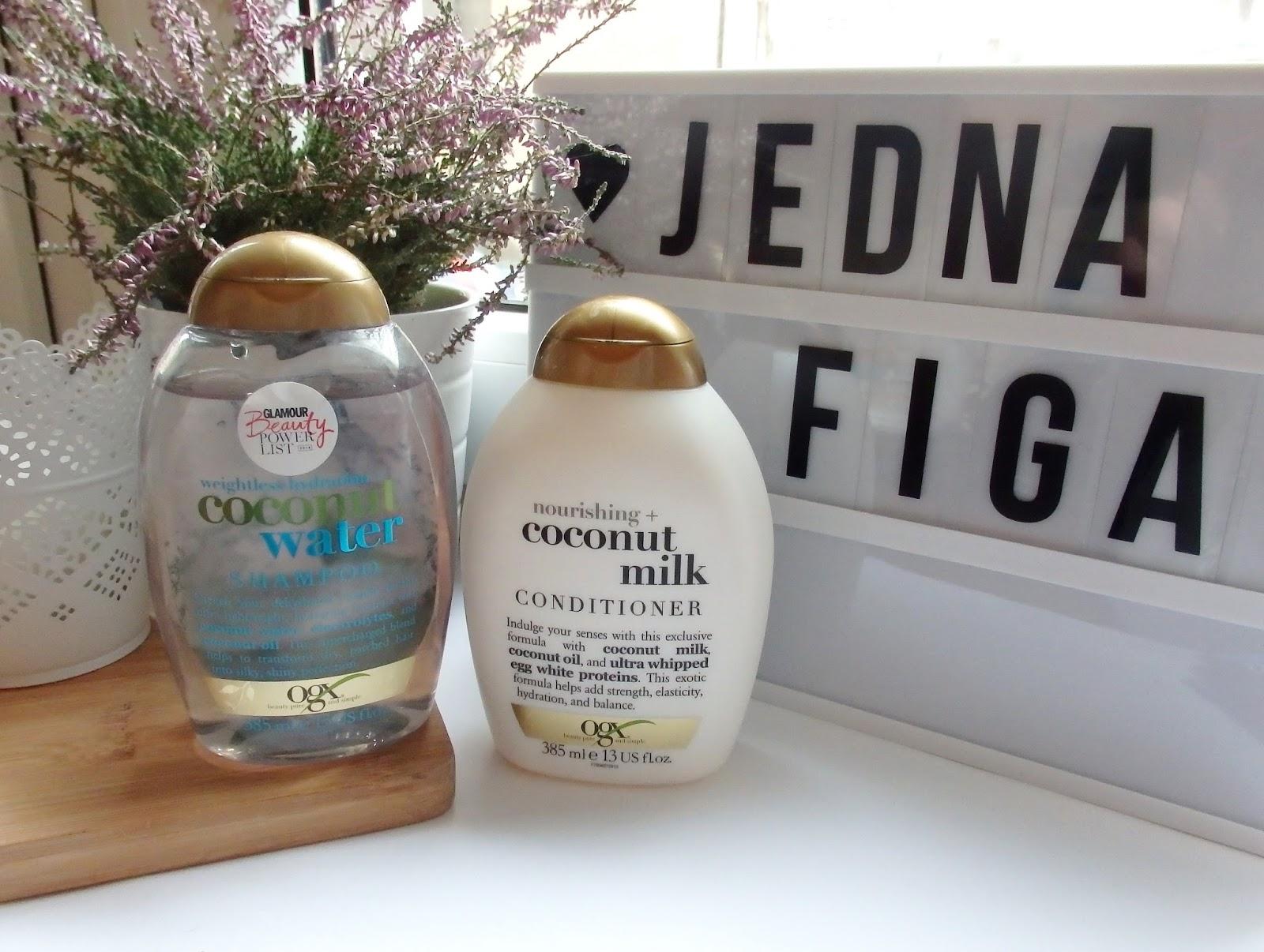 kokosowa pielęgnacja włosów z Organix