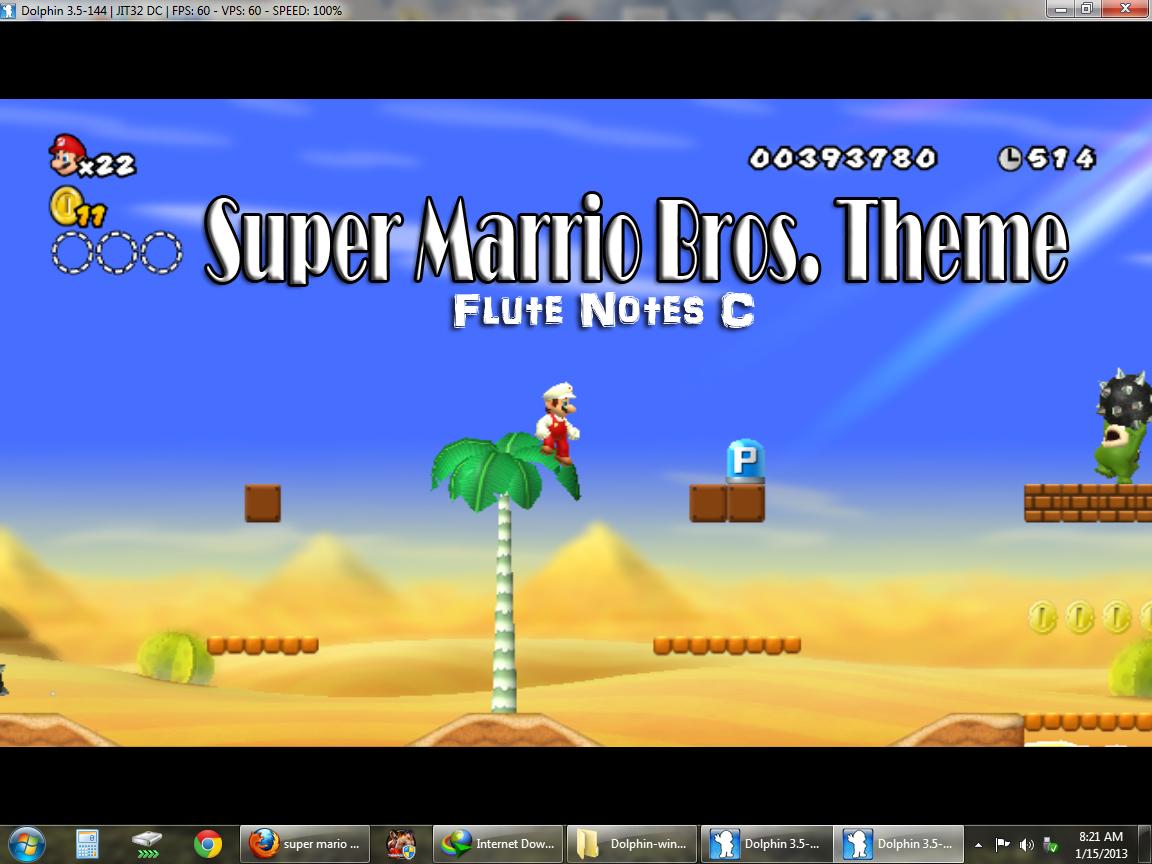 Super Mario Bros Flute