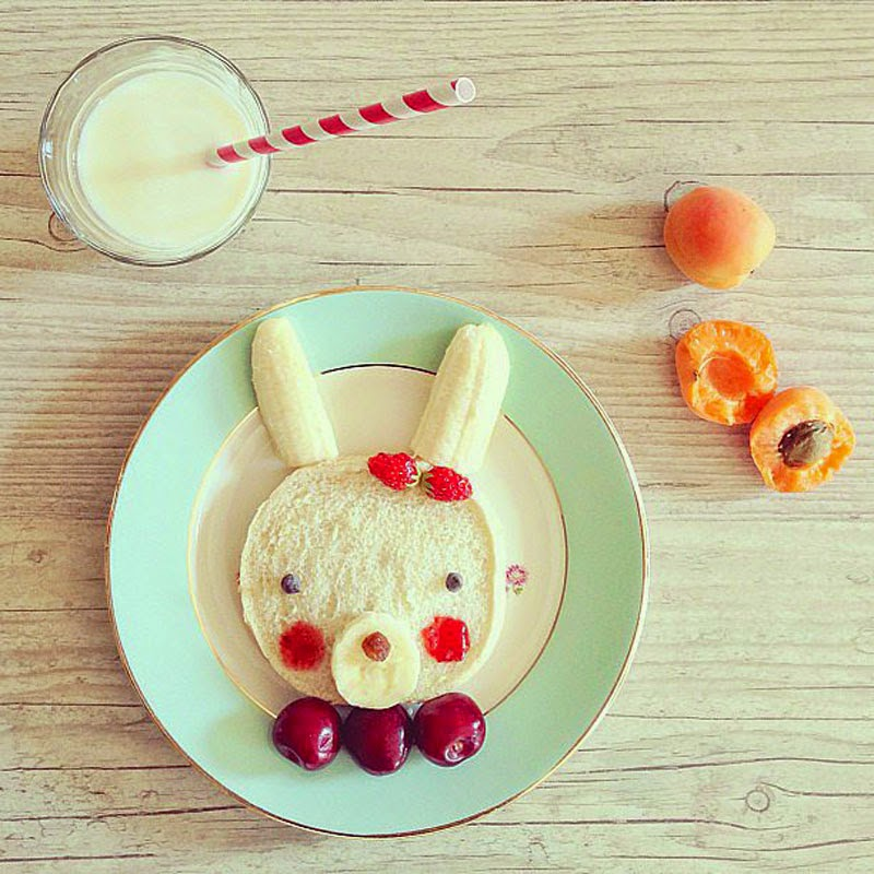 Ideas creativas para decorar la comida infantil