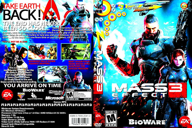 Capa Mass Effect 3 PC