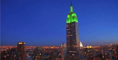 Empire State Building de nuit New York