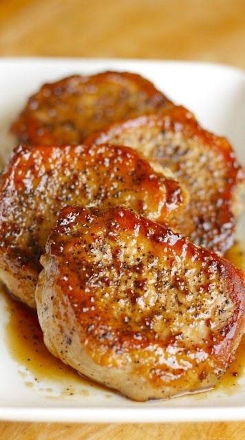 Apple Cider Pork Chops - Main Course Recipes
