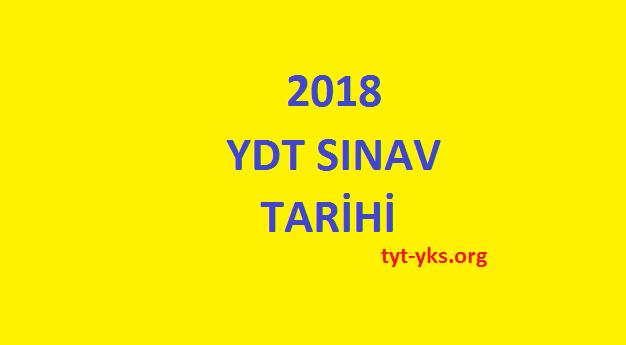 2018 ydt sınavı