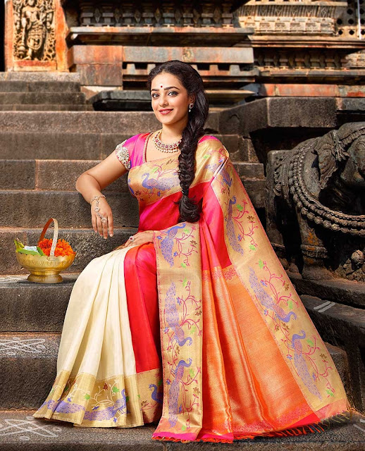nithya menon wedding sarees in jayalakshmi