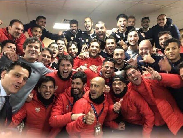 Siviglia di Montella espugna Manchester: ai quarti di Champions League dopo 61 anni