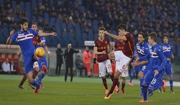 Roma vs Sampdoria