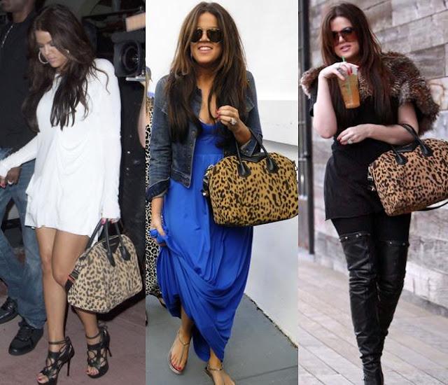 Antigona Bag Givenchy Khloe Kardashian