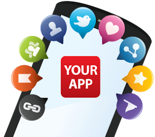 Mobile App Marketing Apps icons UI designs