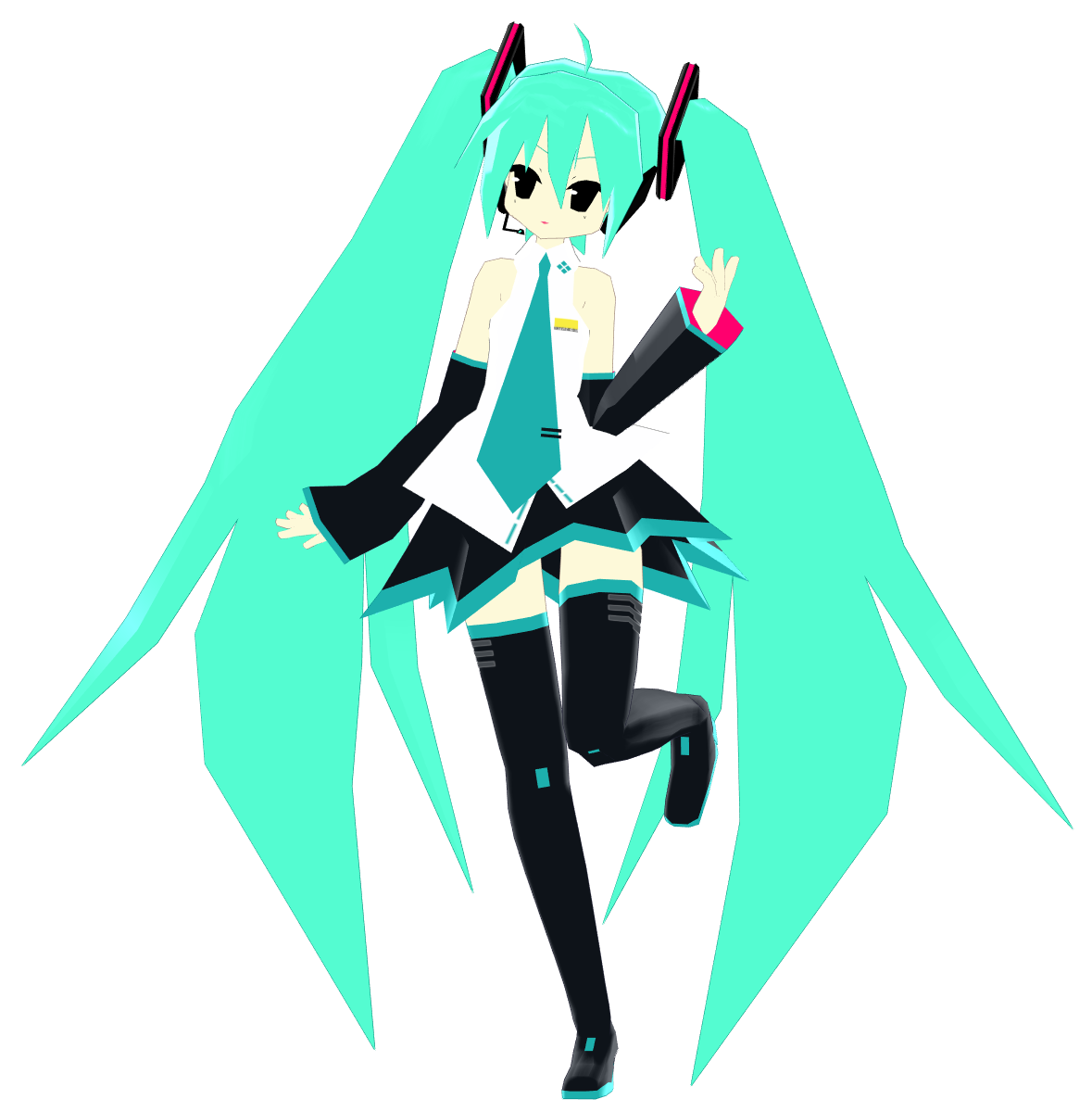 MMDownload: Jay-Jay-Edits PS1 Miku 2