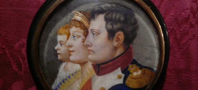 Maria Luisa y Napoleon Bonaparte