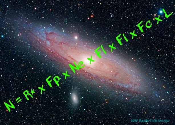 N = R* x Fp x Ne x Fl x Fi x Fc x L Graphic by Dale Alan Bryant