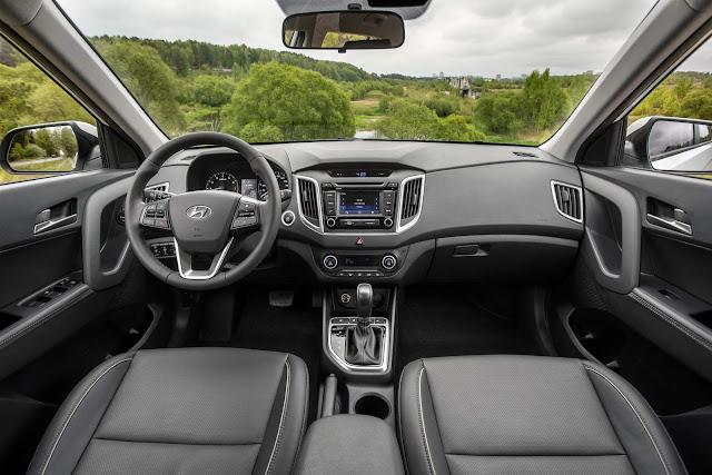 Hyundai HB20 SUV - Hyundai ix25 - interior