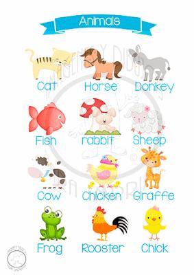 laminas infantiles para decorar y aprender