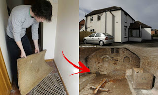 Drunk couple's curiosity led to the discovery of something creepy beneath their house