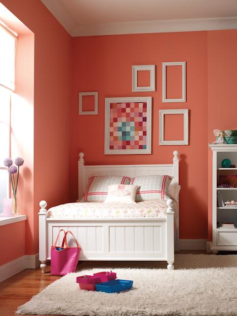 Coral paint color