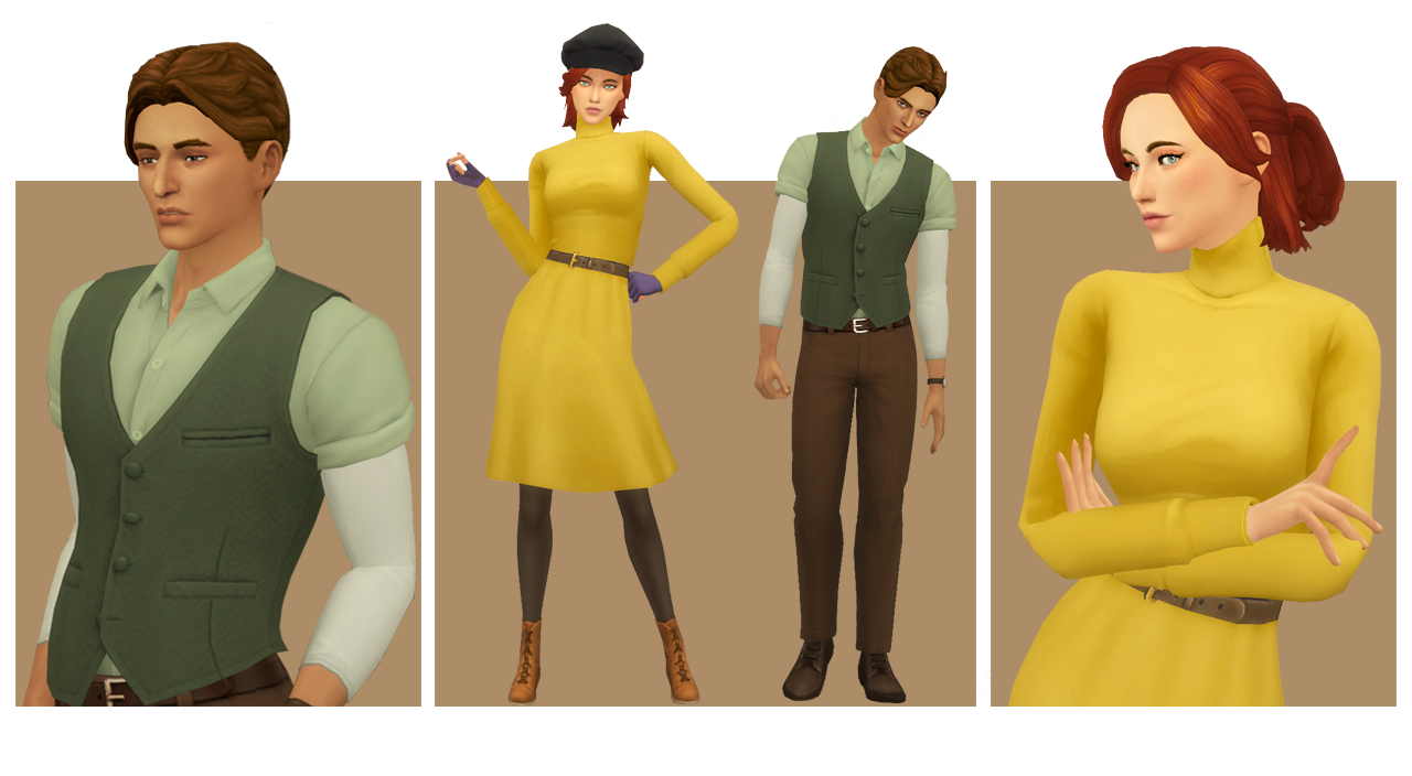 My Sims 4 Blog Anastasia Hair Clothing And Accessories