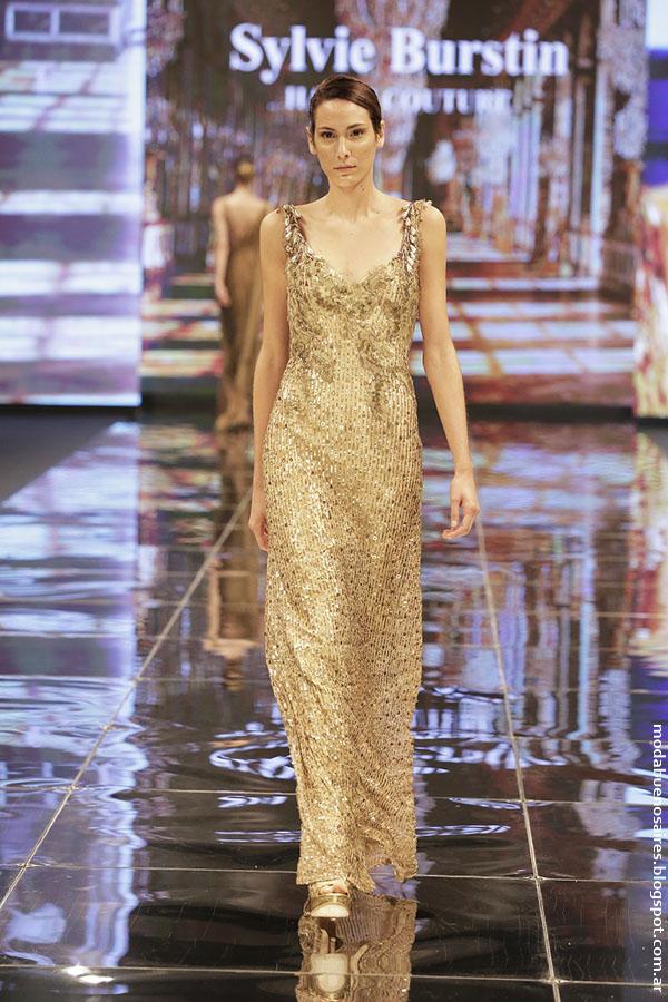 SYLVIE BURSTIN otoño invierno 2016 (Haute Couture) para Edición Especial FUCA, Cuidarse está de Moda.