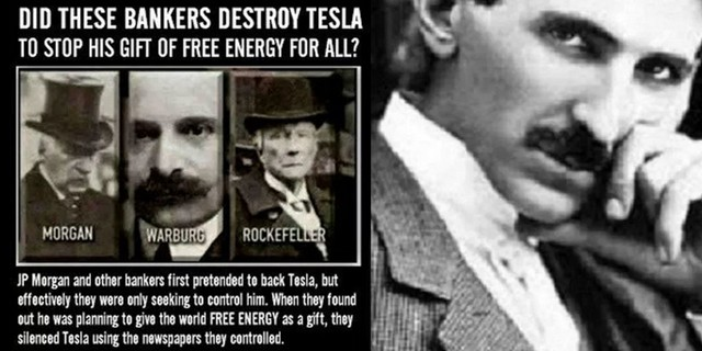 financiers who stopped investing on Teslas inventions