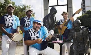 Center Shopping Rio promove show da Velha Guarda Musical da Unidos de Vila Isabel