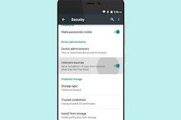 Panduan Pemula Tentang Unknown Sources Pada Android