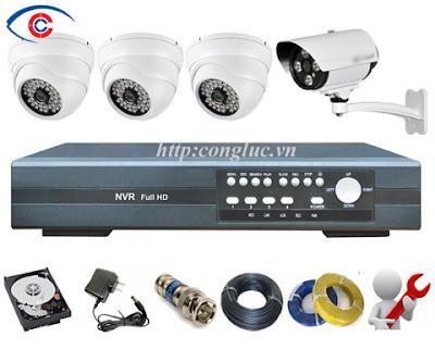 trọn bộ hệ thống camera giám sát