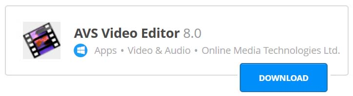 Aplikasi edit video PC terbaik AVS
