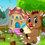 Games4King Cute Wild Boar Rescue Walkthrough