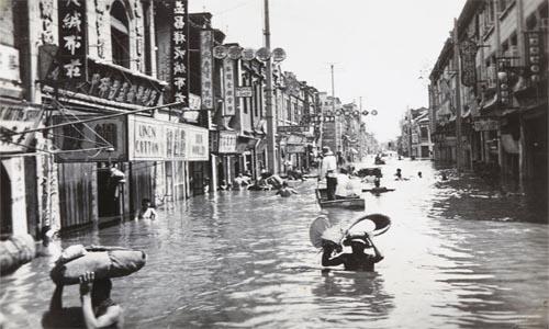 Inundaciones del río Amarillo en China en 1931