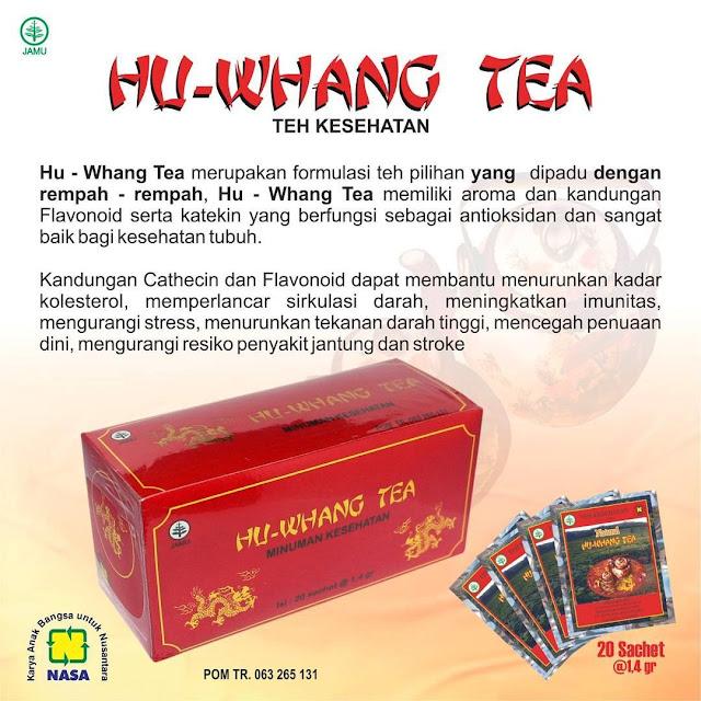 Hu Whang Tea - Teh Kesehatan Warisan Leluhu