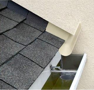 Vízelvezetés a tető télikert
