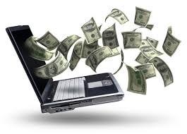how make money from internet work