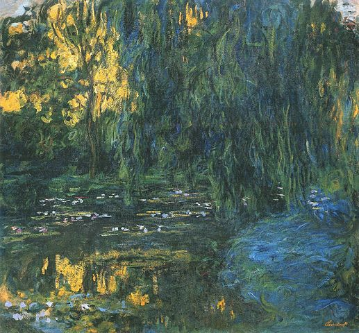 water-lily-pond-weeping-willow-monet