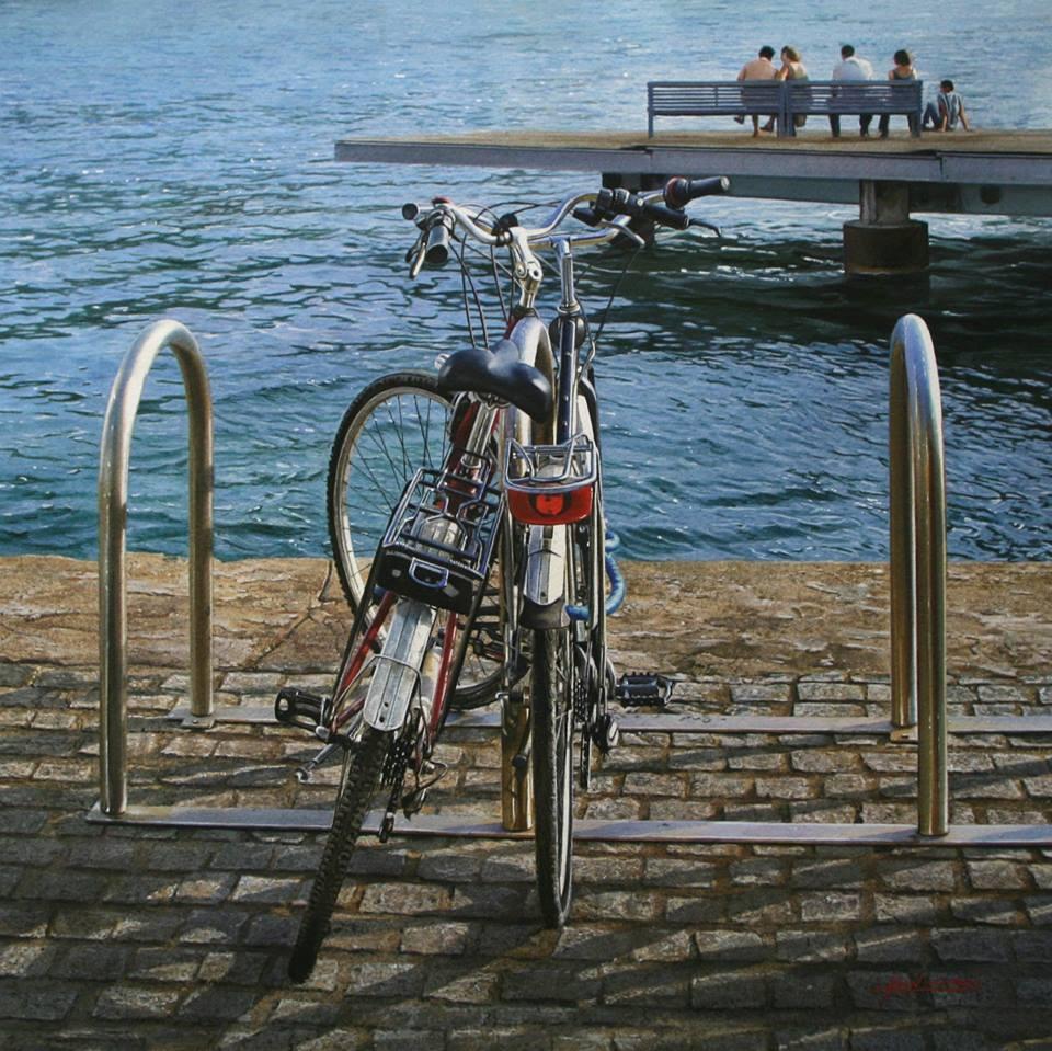 01-Iban-Navarro-Watercolour-Paintings-of-the-Seaside-that-look-like-Photographs-www-designstack-co
