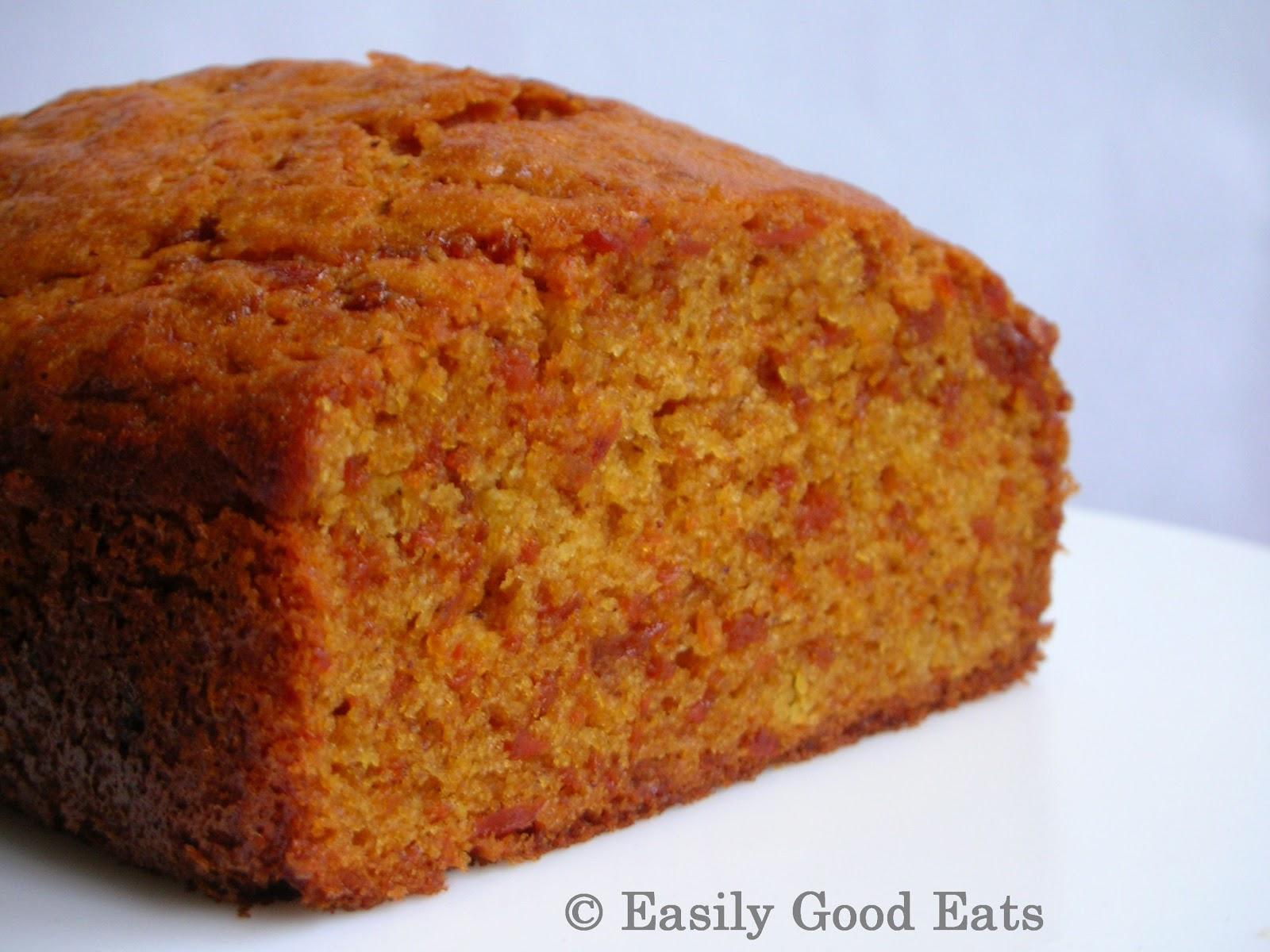 Easily Good Eats Butterscotch Caramelised Carrot Cake