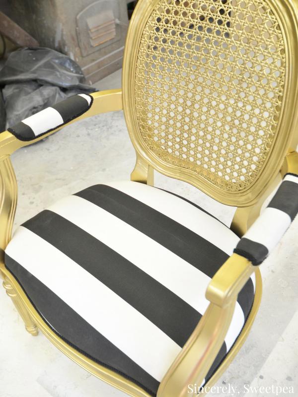 Cane chair redo