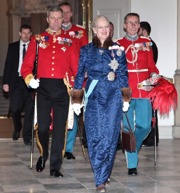 Danish Royals At The New Year Reception, 2nd Day